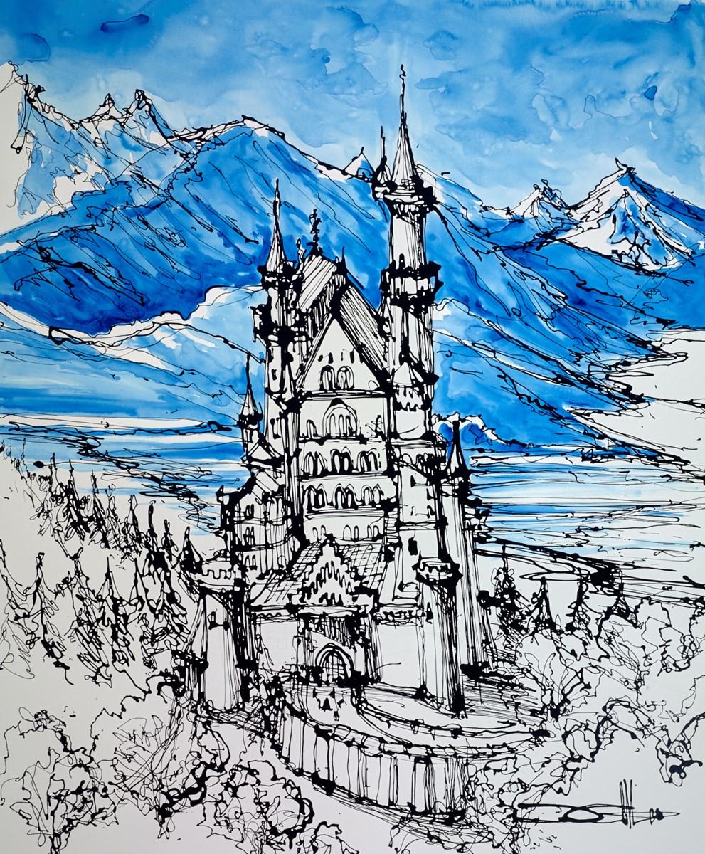 Neuschwanstein, King Ludwig's Dream